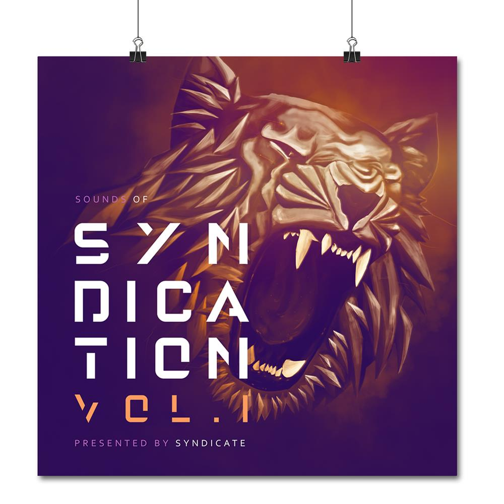 SIGNED Sounds Syndication Lion