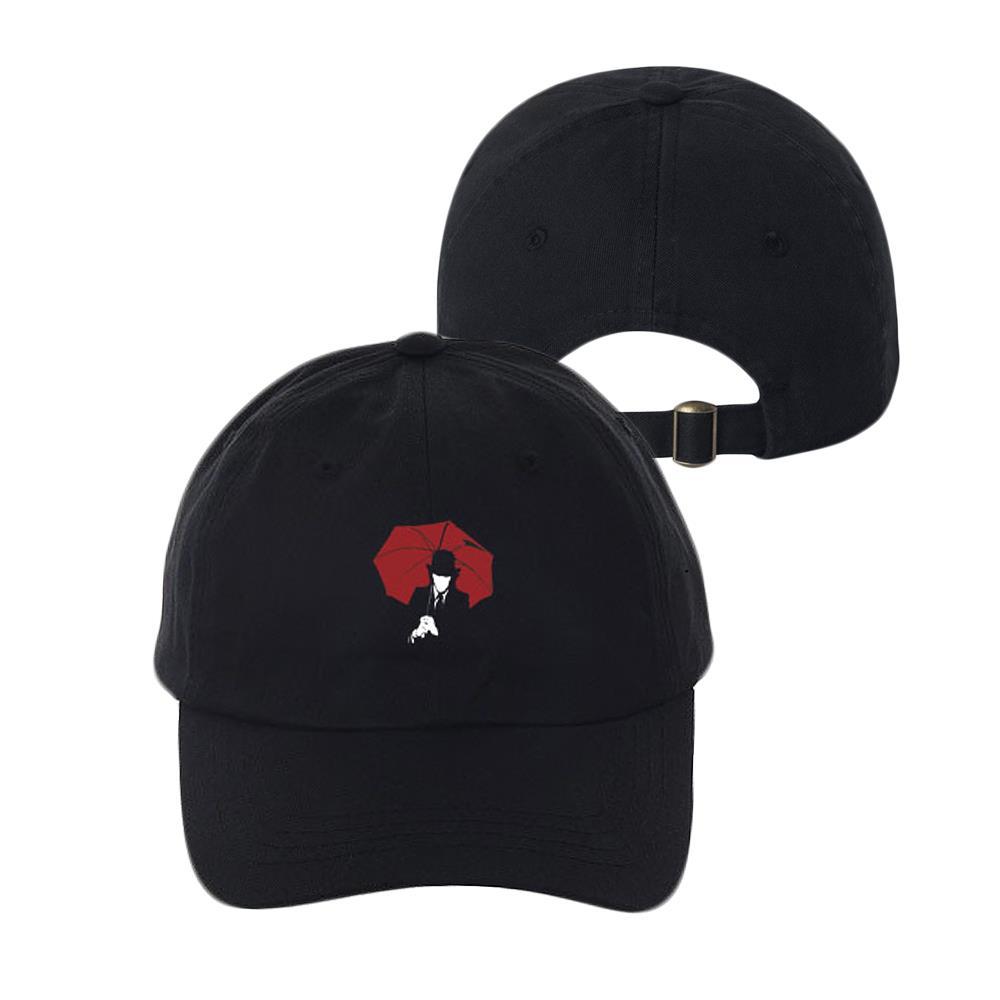 Umbrella Man Black Dad Hat