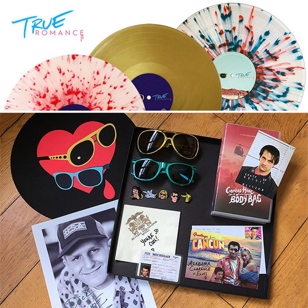 True Romance Deluxe Vinyl Box Set Alabama Splatter Vinyl