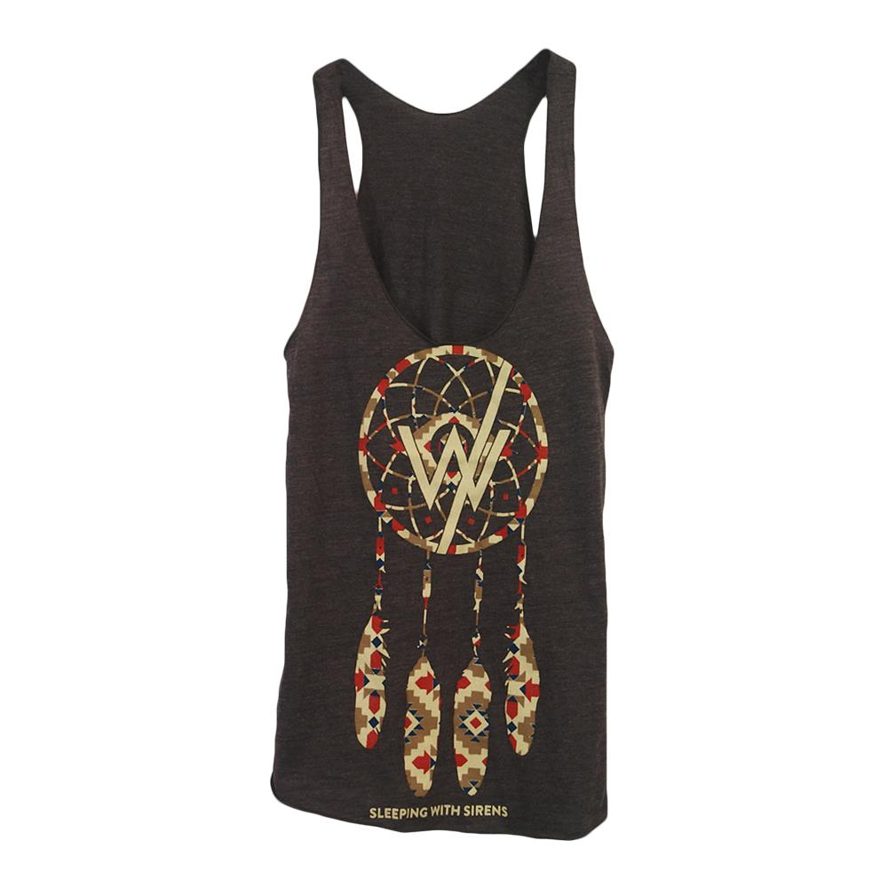 *Limited Stock* Dream Catcher Brown Women's Racerback Tank
