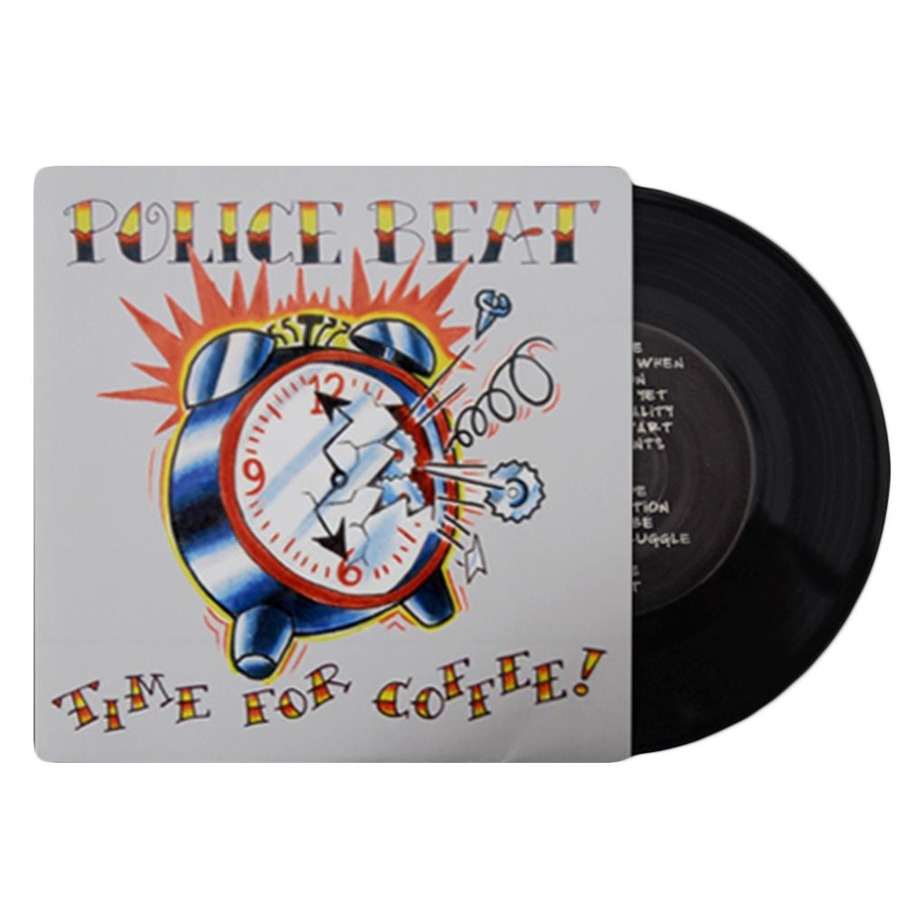 Time For Coffee Black 7inch