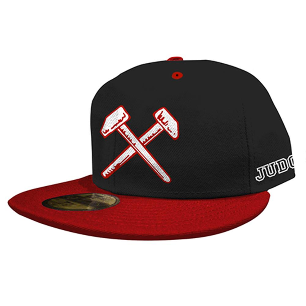 Hammers Red/Black Snap-Back Hat