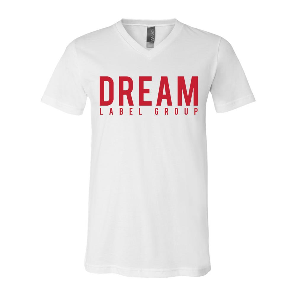 Dream Label Group V-Neck White Unisex