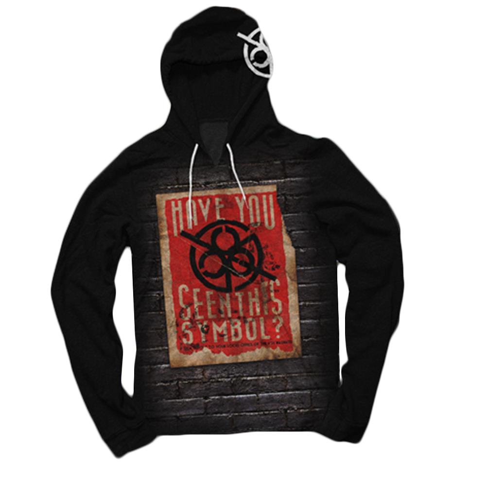 Have You Seen Black Hooded Pullover