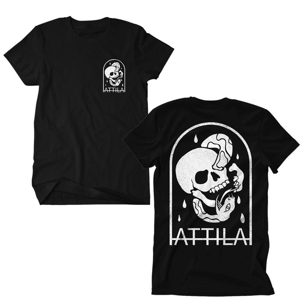 Snake Skull Black