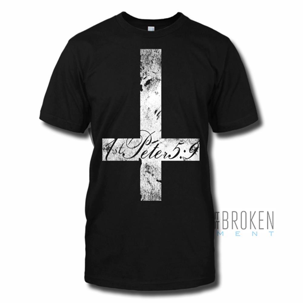 Cross Black T-Shirt