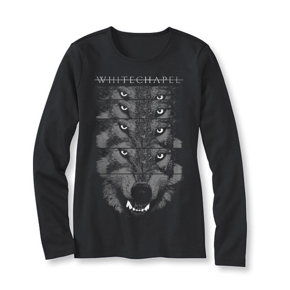 Alpha Ladies Black Crewneck