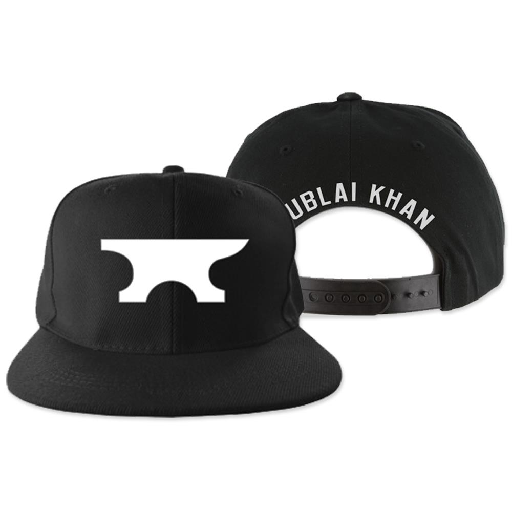 Anvil Black Snapback