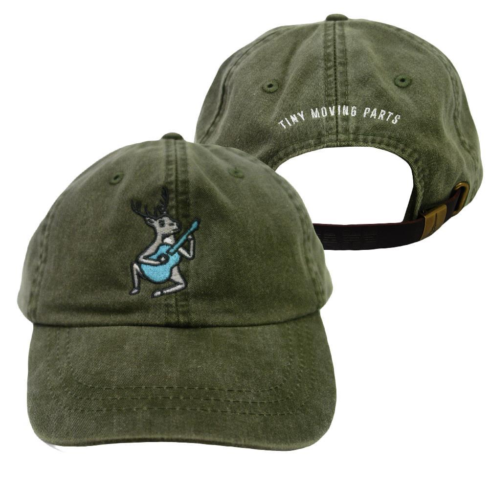 Deer Green Dad Hat