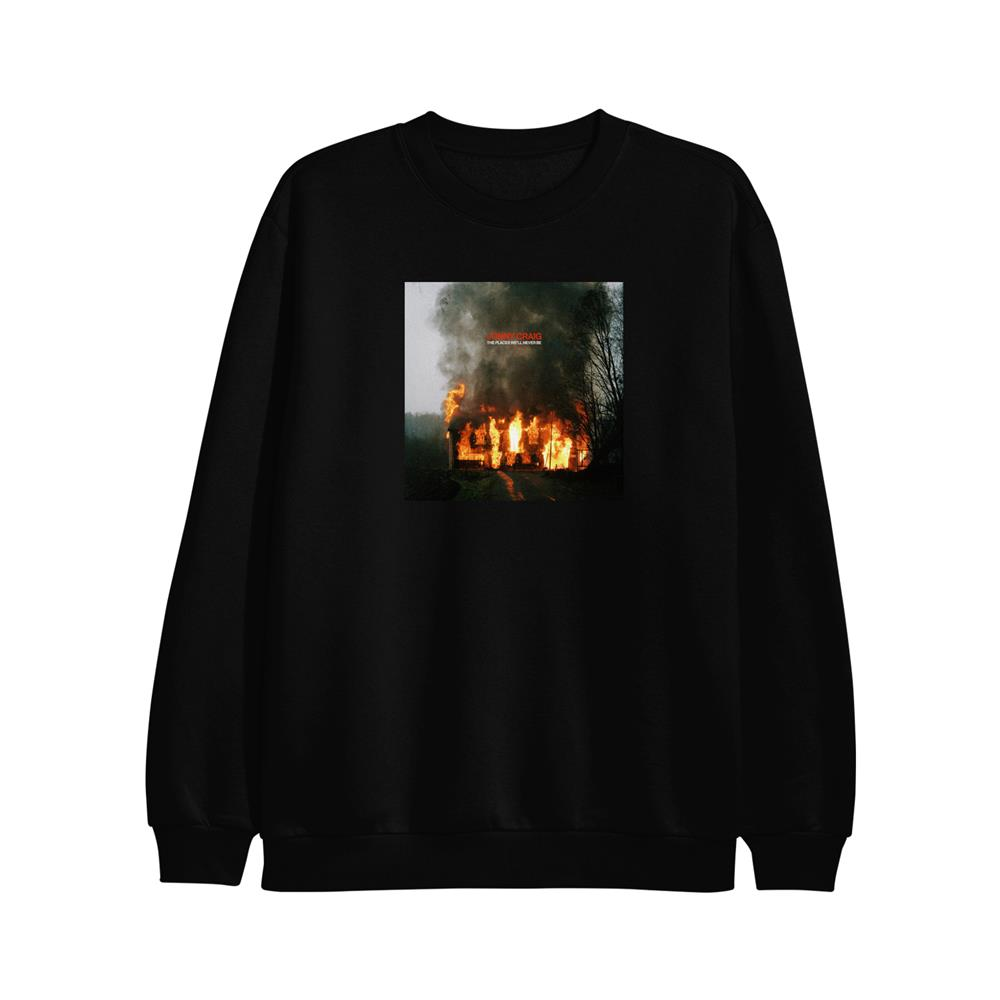 The Places We'll Never Be Black Crewneck