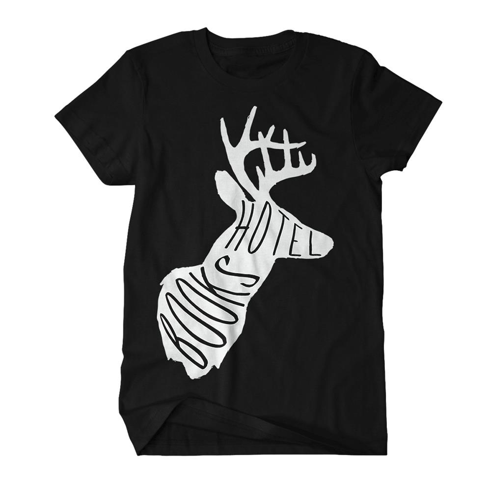 Deer Black T-Shirt
