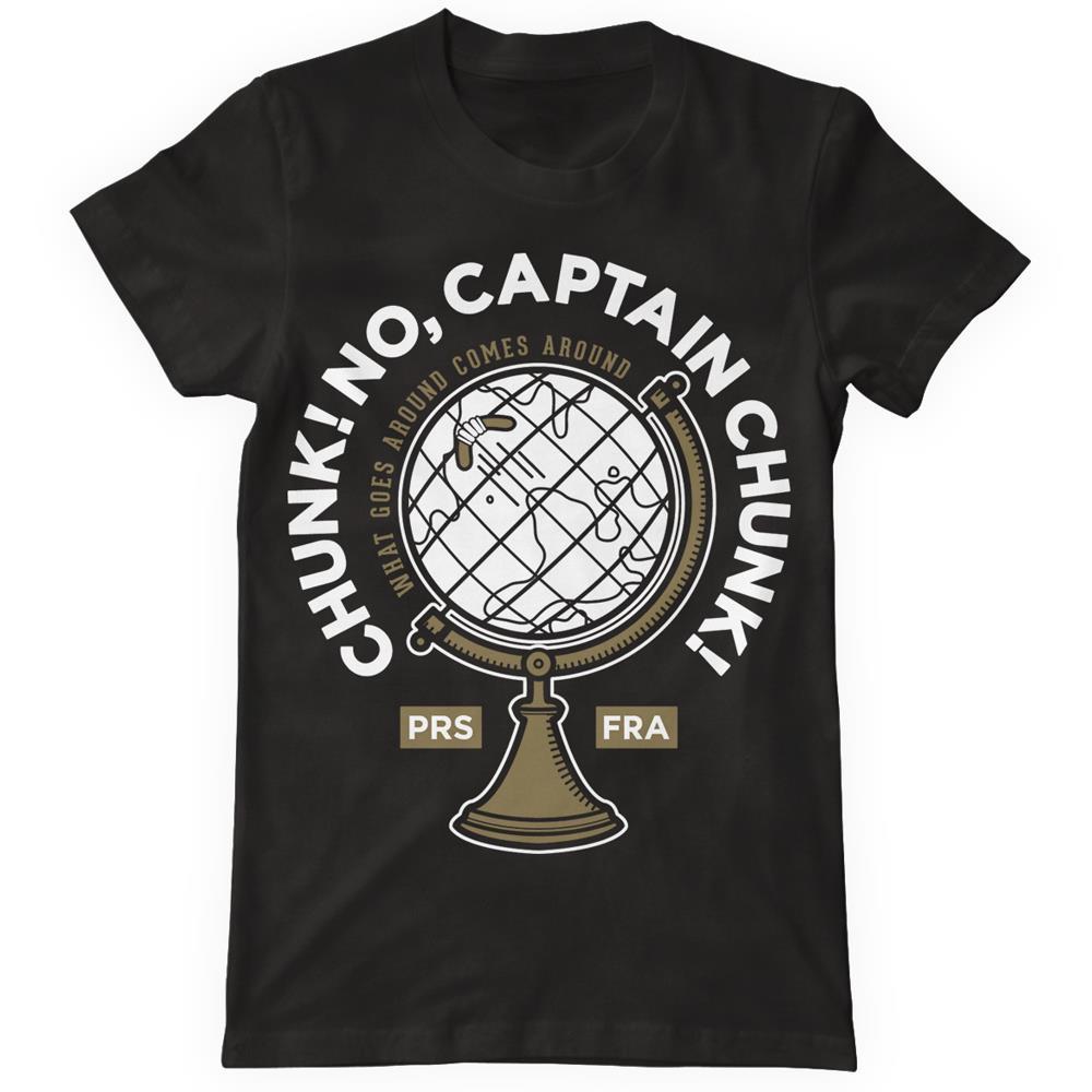 Globe Black T-Shirt