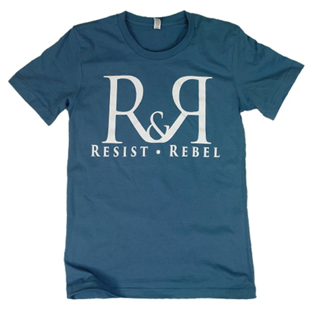 R & R Logo Steel Blue