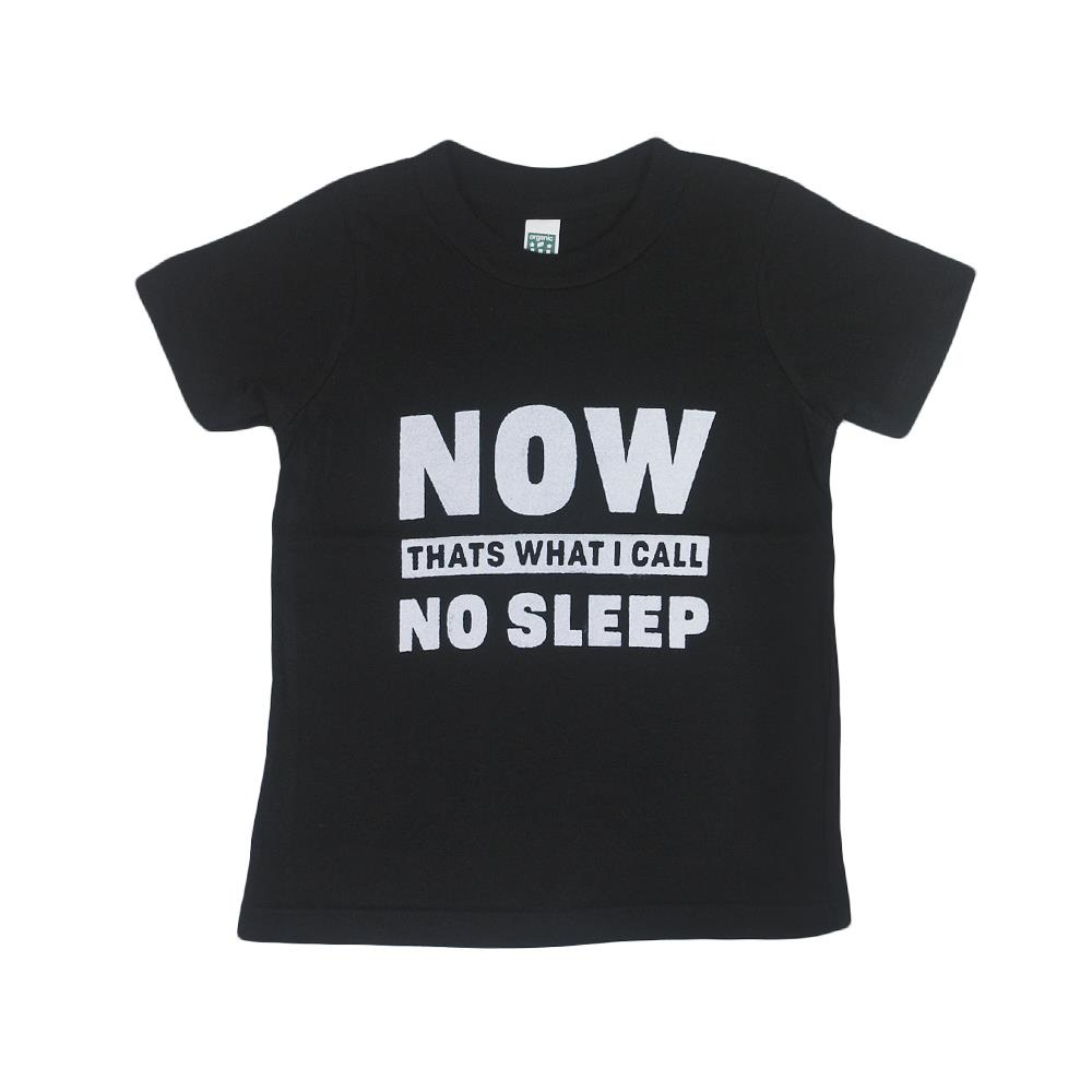 Now That's What I Call No Sleep Black Toddler Organic