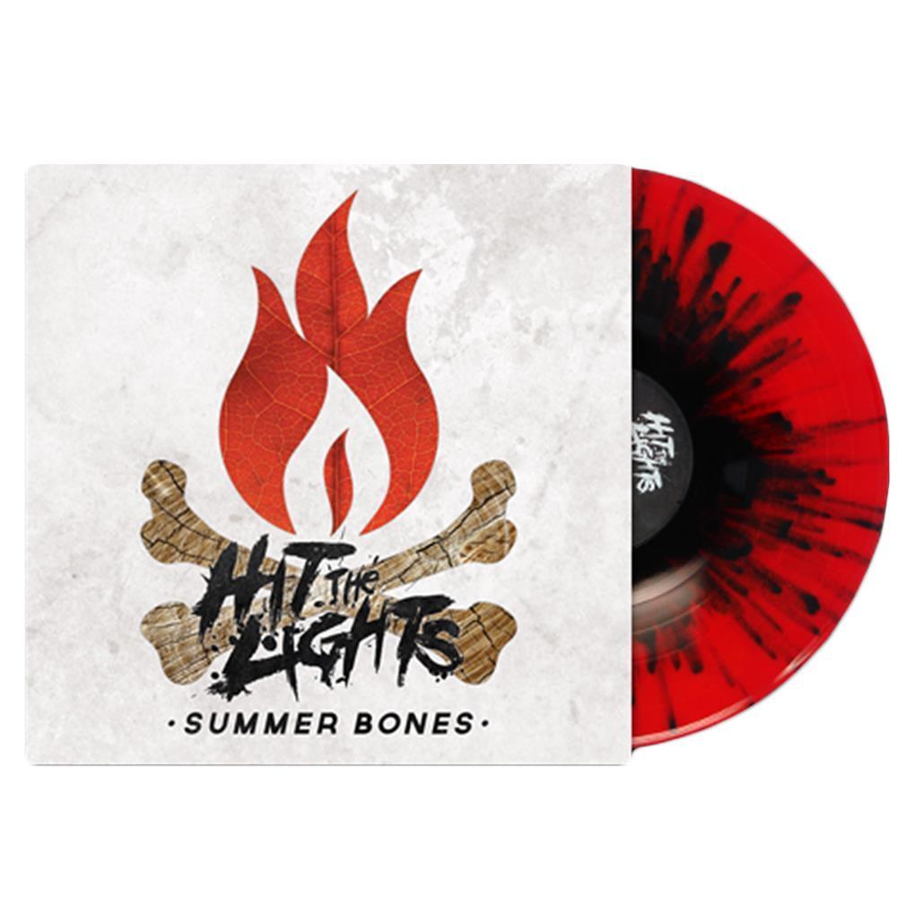 Summer Bones Blood Red/Orange Smash w/Black Splatter LP