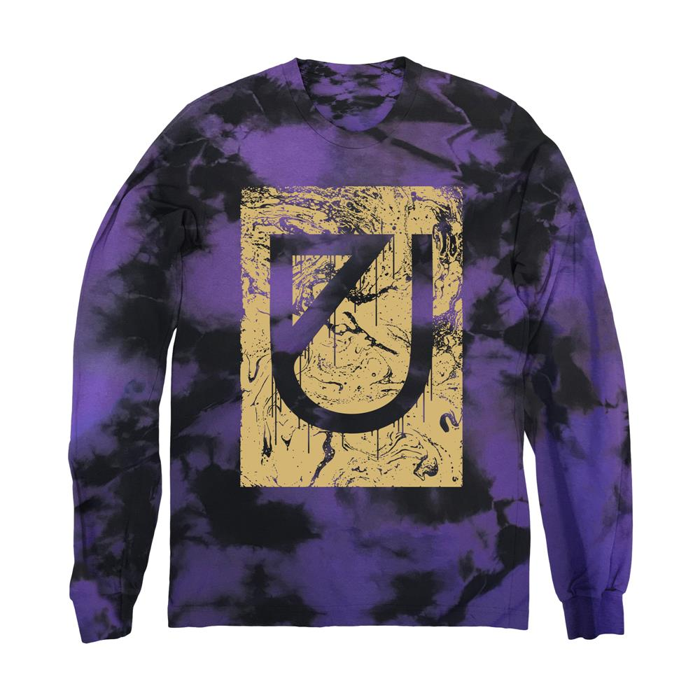 Marble Drip Logo Purple Custom Dye