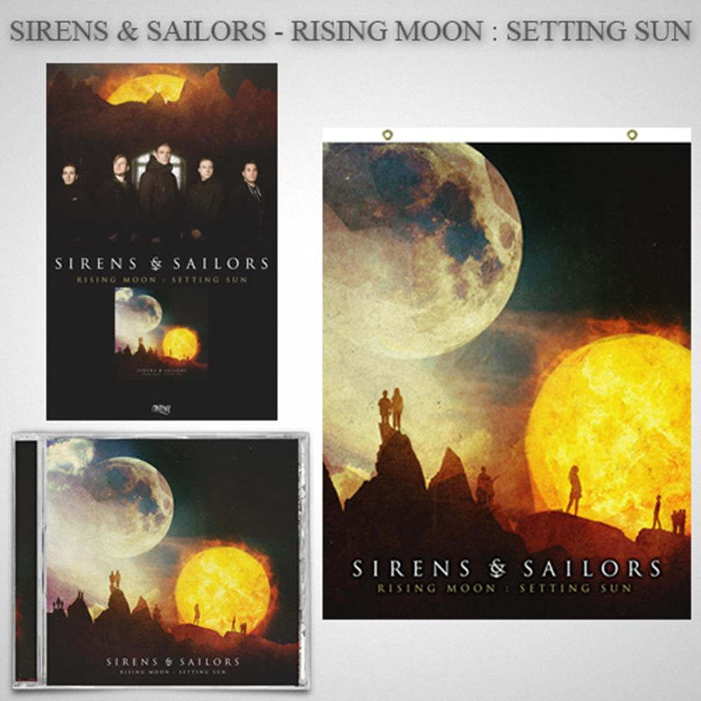 Rising Moon: Setting Sun CD + Flag + Poster + Digital Download