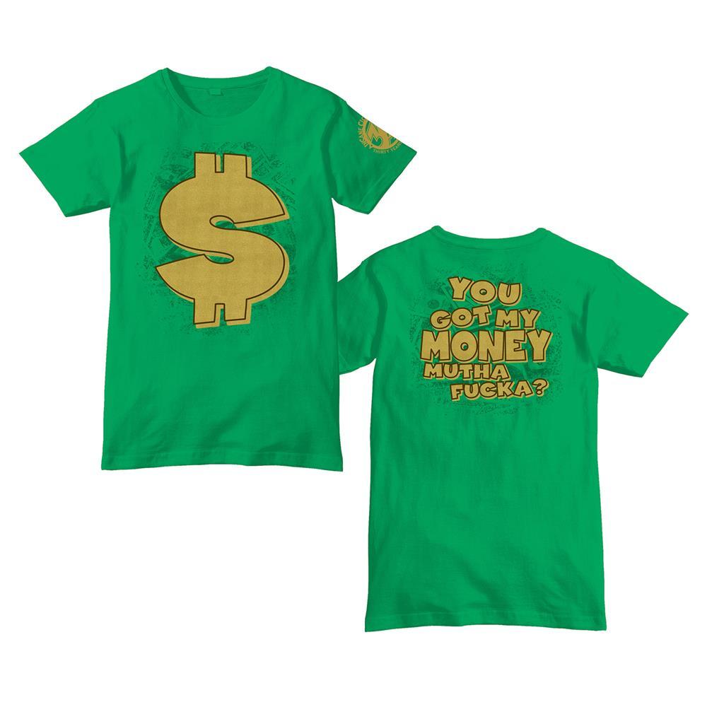 30th Anniversary Got My Money Green