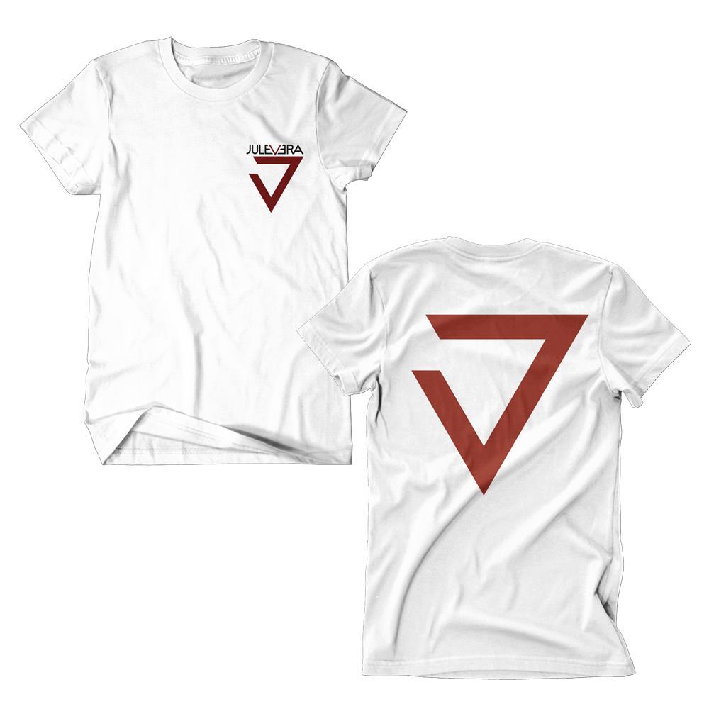 Jule Vera Logo White T-Shirt