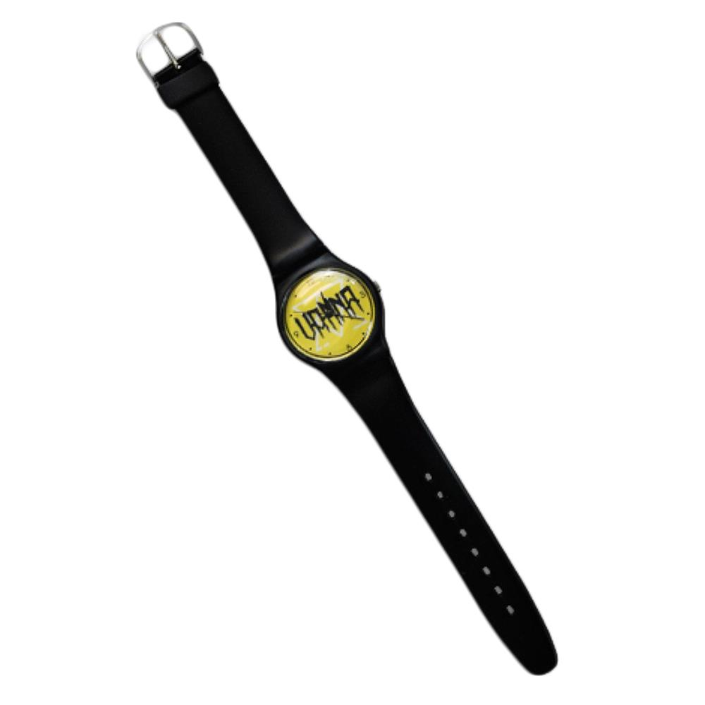 Logo Black/Yellow Watch