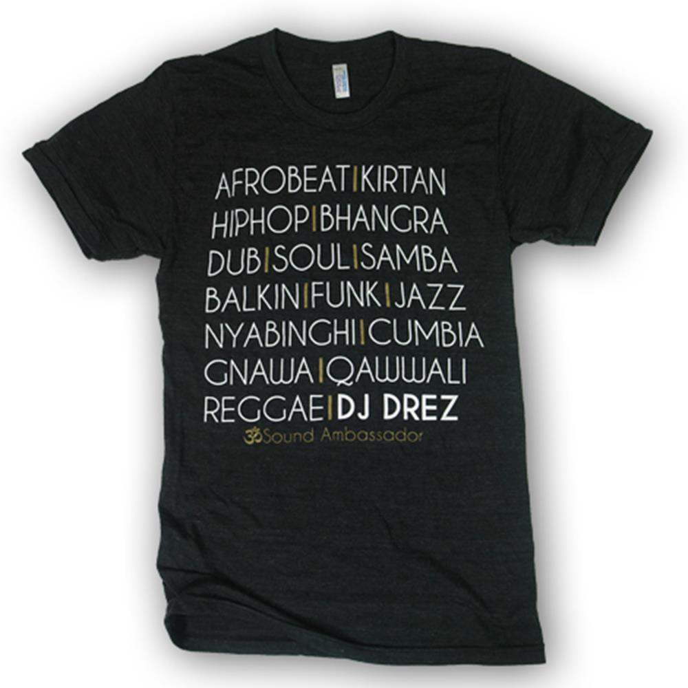 Mantralogy DJ Drez Music Tri-Black