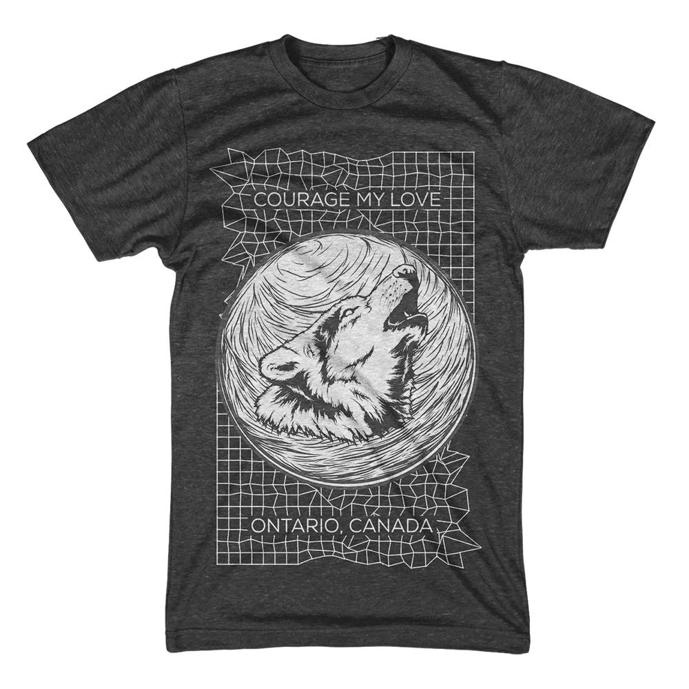 Wolf Heather Charcoal T-Shirt