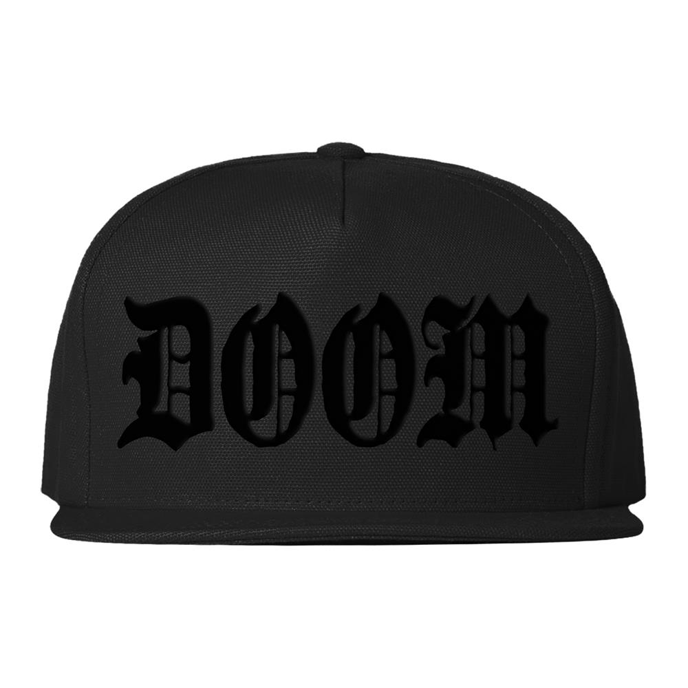 Doom Snapback Version 1 Black Snapback