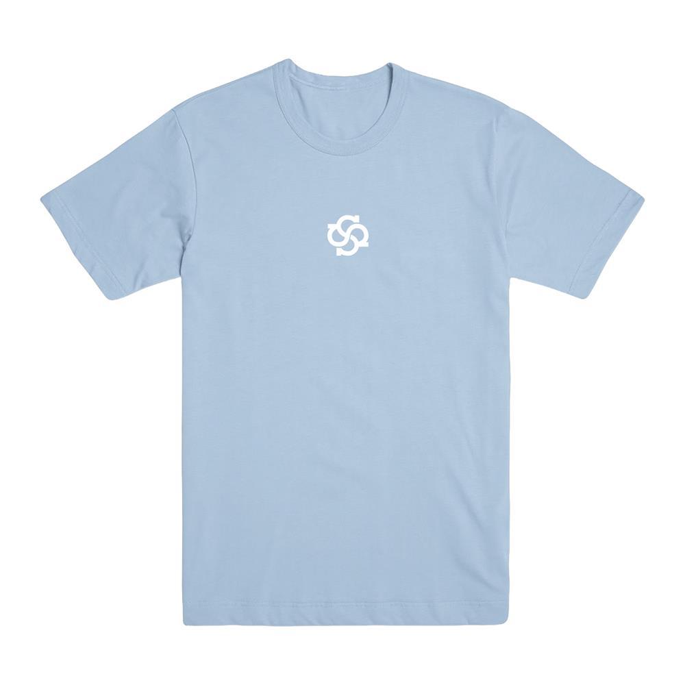 Model Logo Pastel Blue