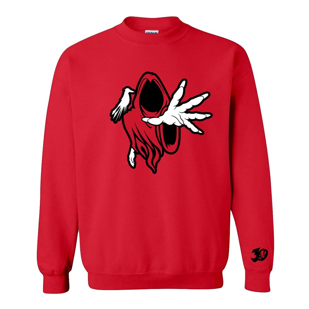 Hell's Pit Wraith Red Crewneck