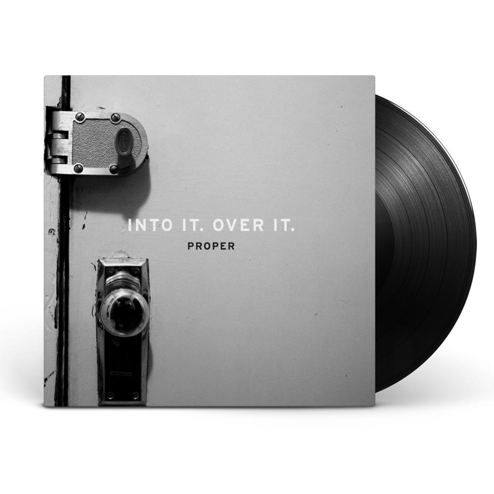 Into It.Over It. Proper Black 180gram
