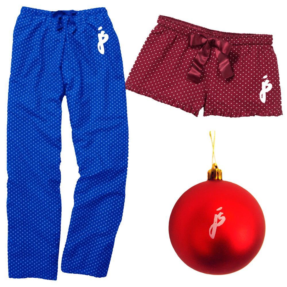 Pajama Set + Ornament