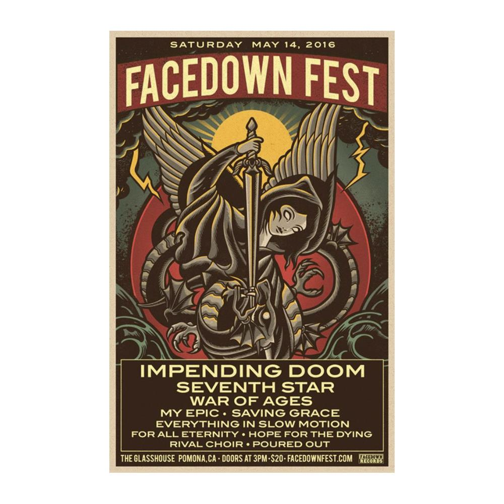 Facedown Fest 2016                                                     Merch