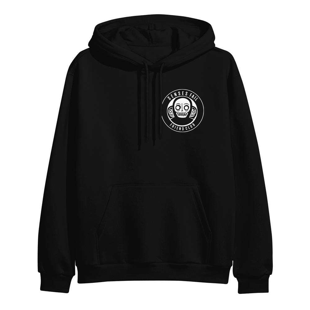 Friend Club Badge Black