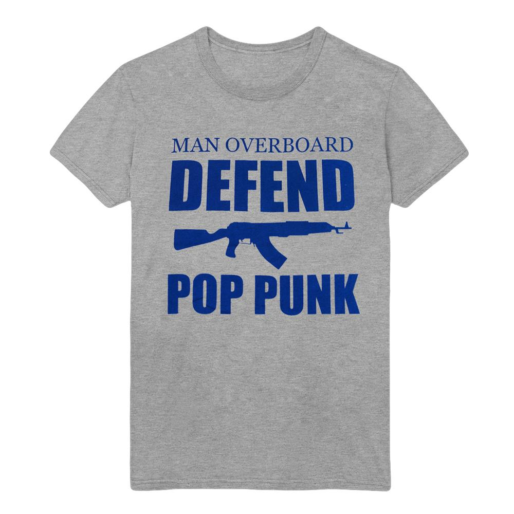 *Limited Stock* Defend Pop Punk Heather Grey