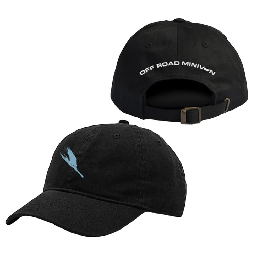 Swan Black Dad Hat