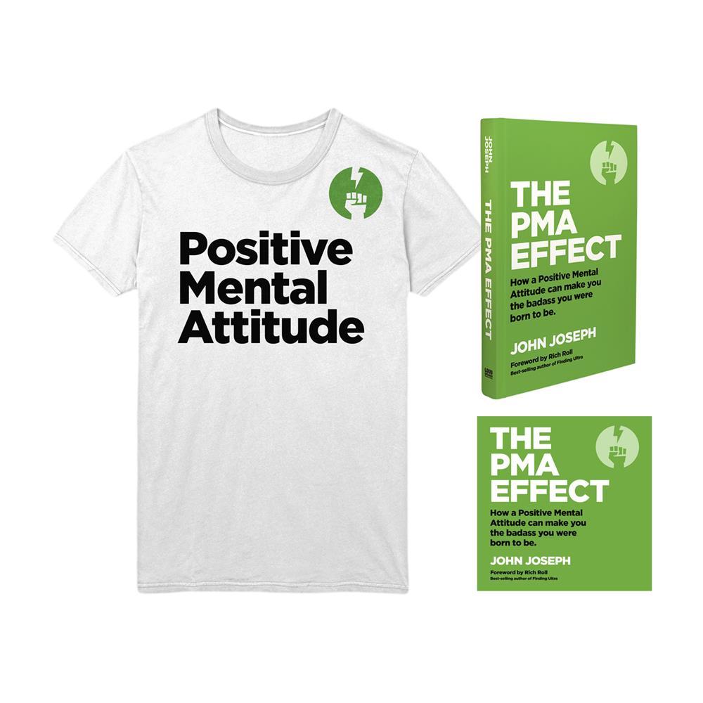The PMA Effect Book/Audiobook/T-Shirt