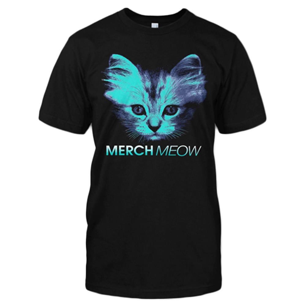 MerchMeow Black T-Shirt