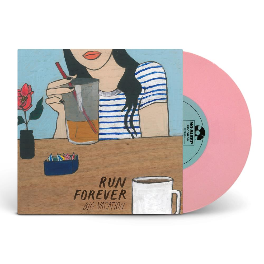 Big Vacation Opaque Pink Vinyl 7
