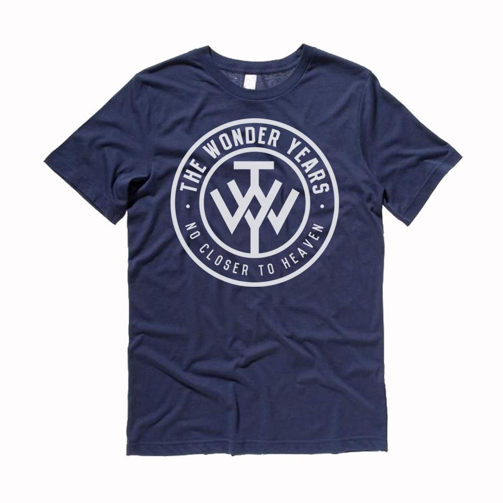 No Closer To Heaven Blue T-Shirt
