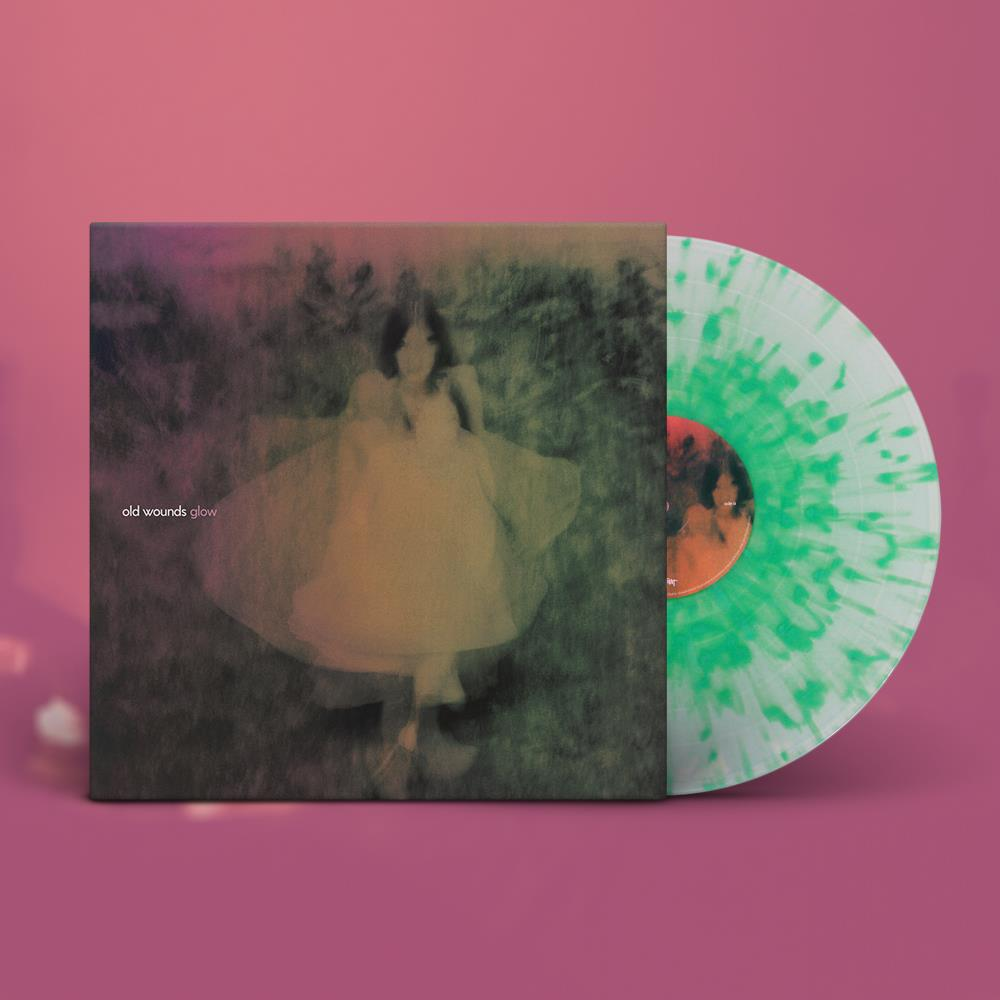 Glow LP Coke Bottle W/ Green Splatter