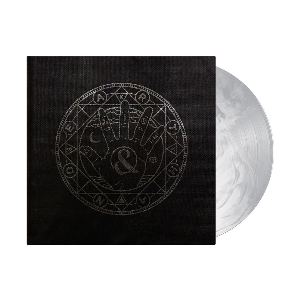 EARTHANDSKY Galaxy Silver & White Gatefold