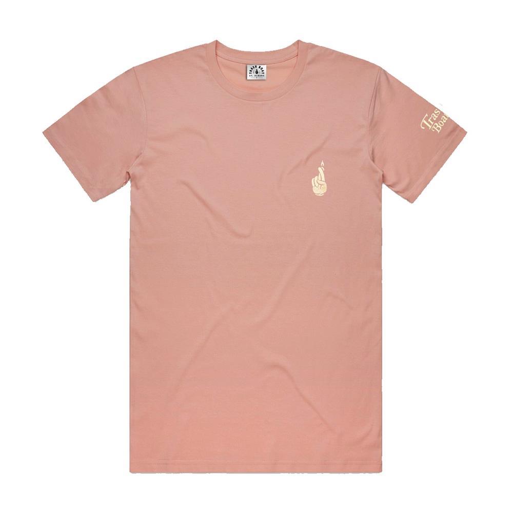 Cartoon Pale Pink