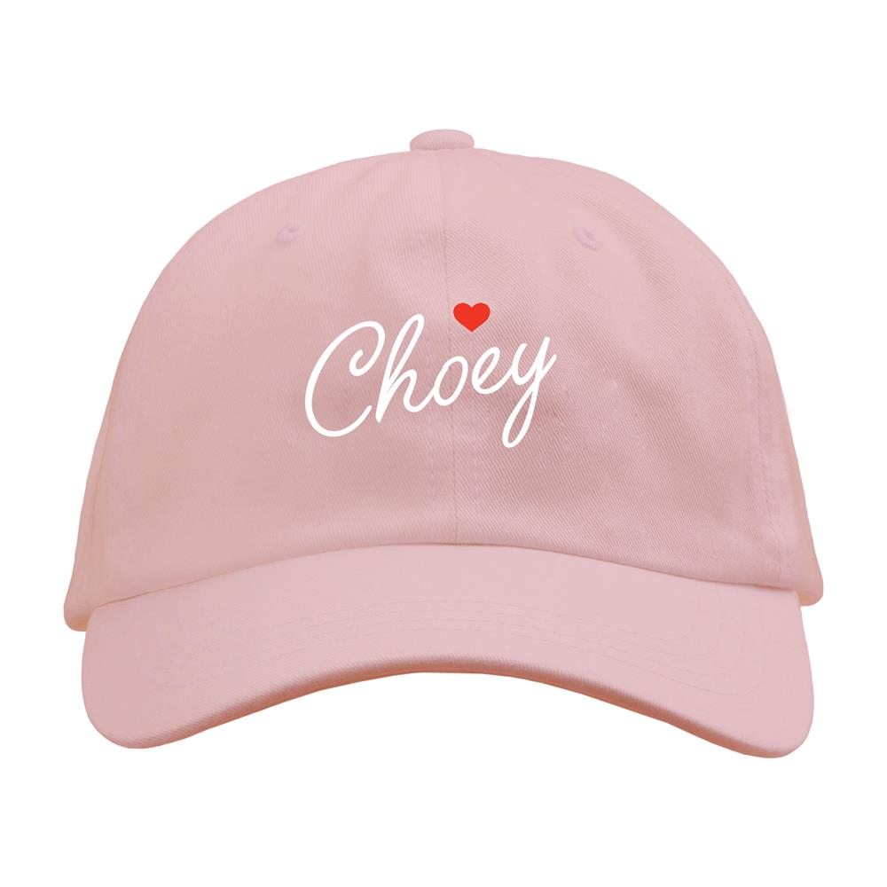 Choey Pink Dad Hat