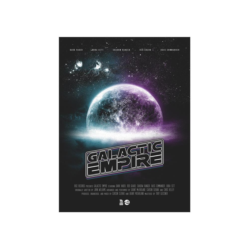 Space Logo  18X24 Screen Printed