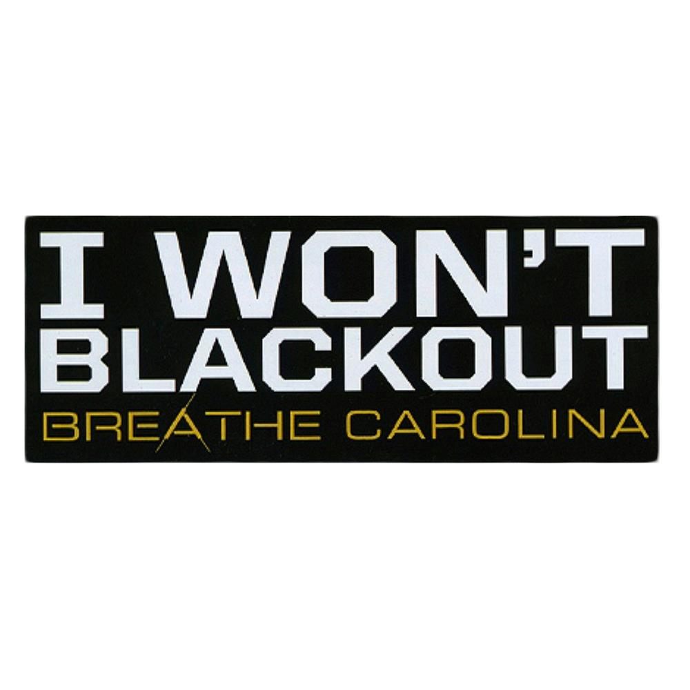 I Won't Black Out Black *Final Print!*