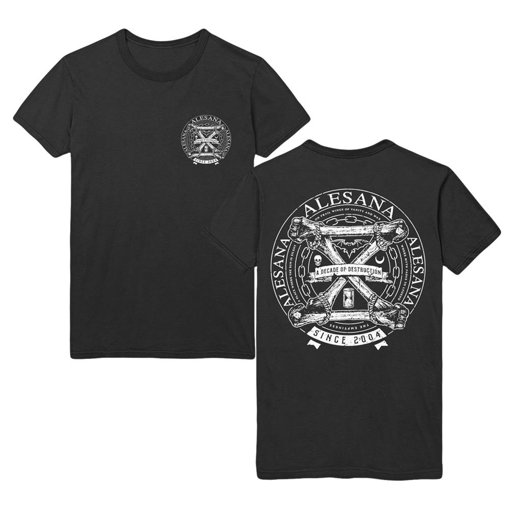 *Limited Stock* A Decade Of Destruction Black T-Shirt