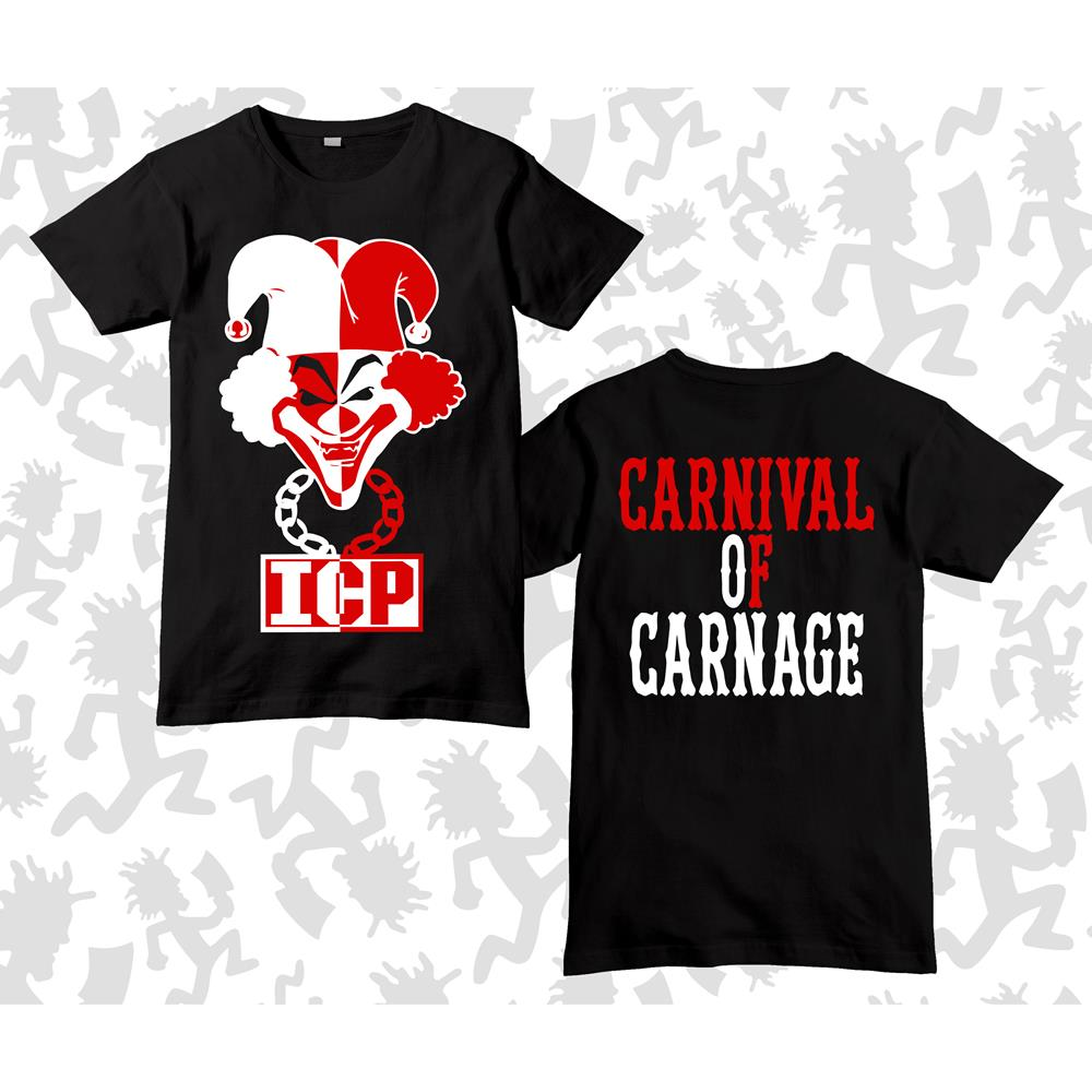 Carnival Of Carnage Joker Card Black
