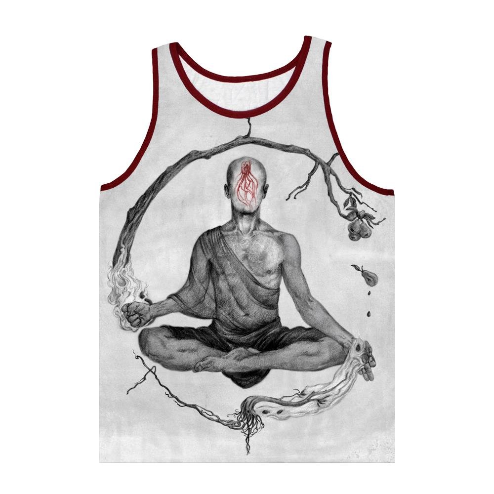 Custom Grey Tank Top Evr0 Equal Vision Records
