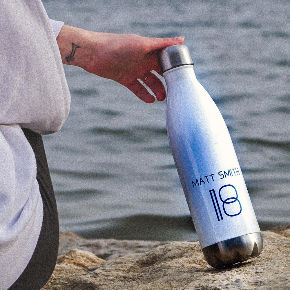 Los Angeles White Water Bottle