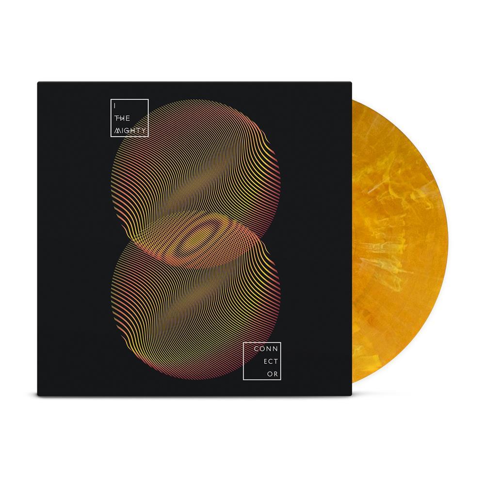 Connector Orange/Yellow Marble